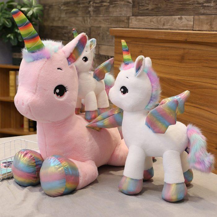 Unicorn Soft Toy Rainbow Wings