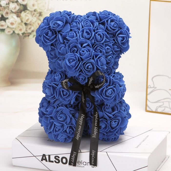 Rose Teddy Bear Gift Decoration