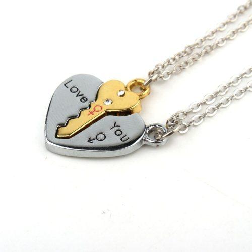 Relationship Necklaces Cute Pendant (2Pcs)