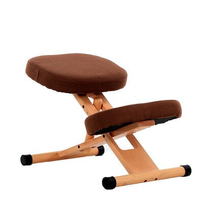 Ergonomic Kneeling Chair Wooden Frame