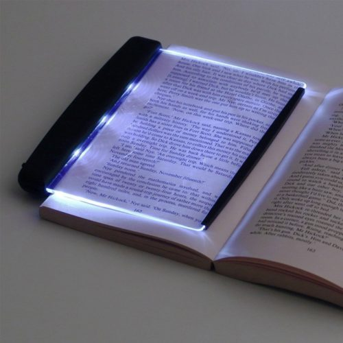 LED Book Light Flat Reading Lamp
