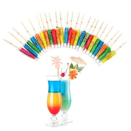 Cocktail Umbrellas Drink Decoration