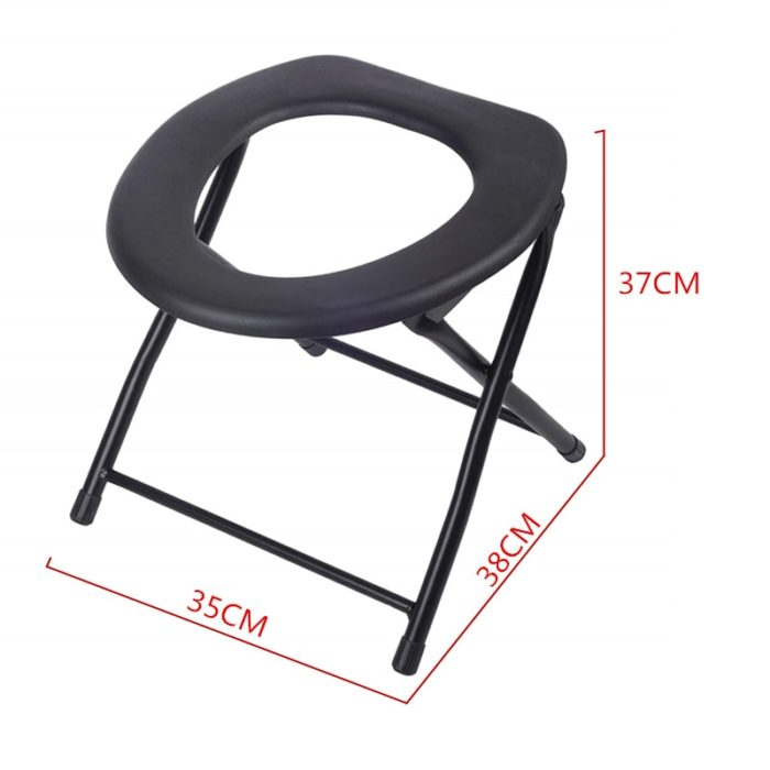 Portable Camping Toilet Foldable Potty Chair