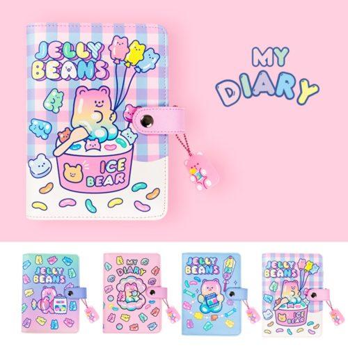 Ring Notebook Cute Girly Binder