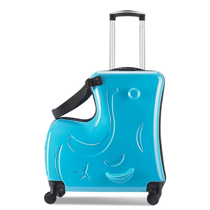 Kids Ride On Suitcase Travel Luggage