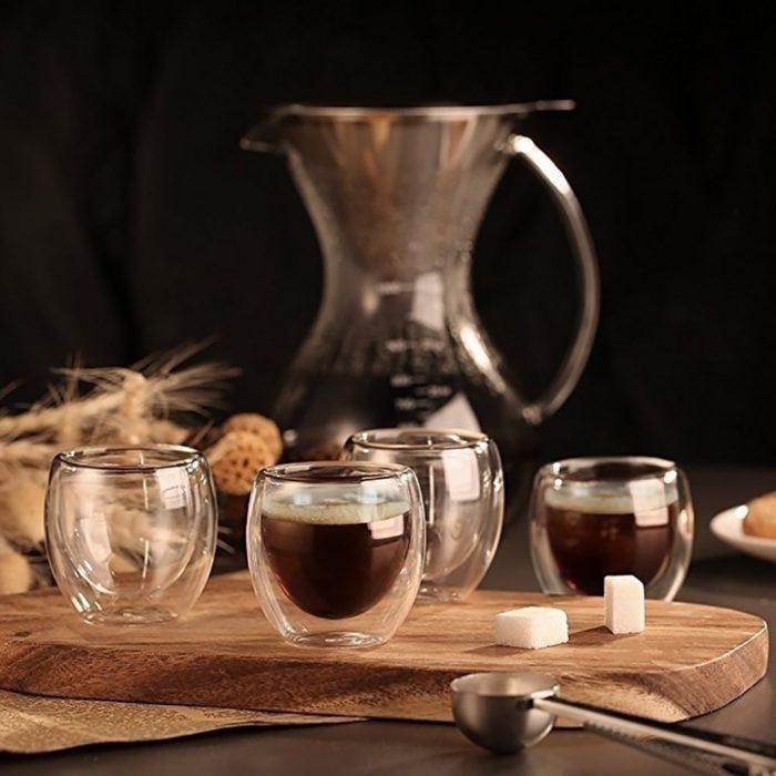 Espresso Cups Coffee Glassware