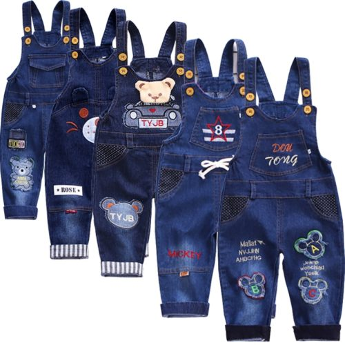 Jumpsuit for Kids Denim Style
