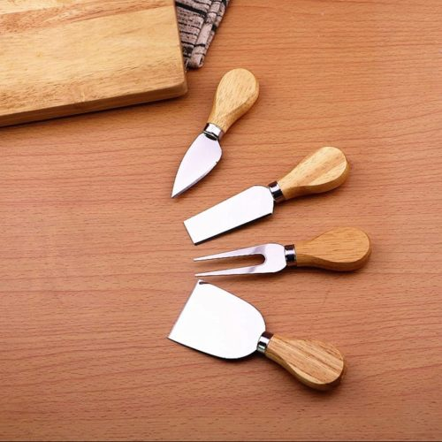 Cheese Knife Set Bamboo Handle