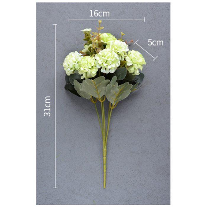 Silk Flower Bouquet Decor 10Heads/Bouquet