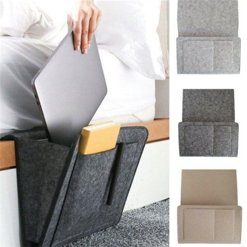 Bed Caddy Bedside Storage Organizer
