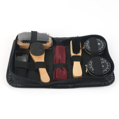 Shoe Care Kit Complete Travel Set