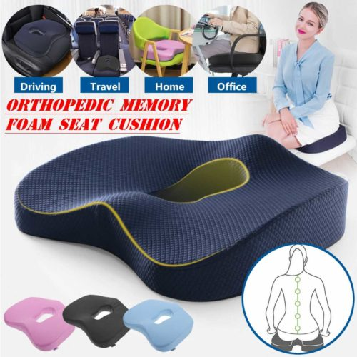 Orthopedic Seat Cushion Memory Foam