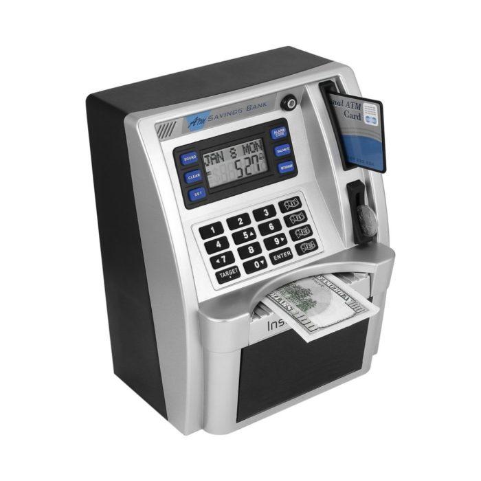 ATM Piggy Bank Kids Savings