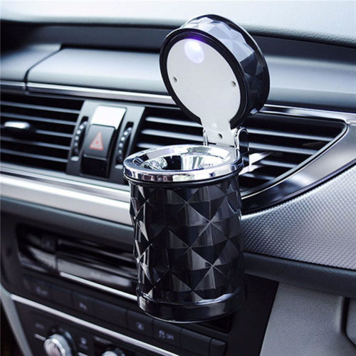 Car Ashtray with LED Light