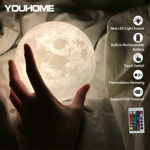 Moon Light Lamp 3D Night Light