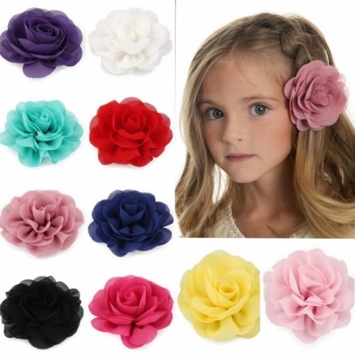Flower Clip Rose Design Hair Accessories
