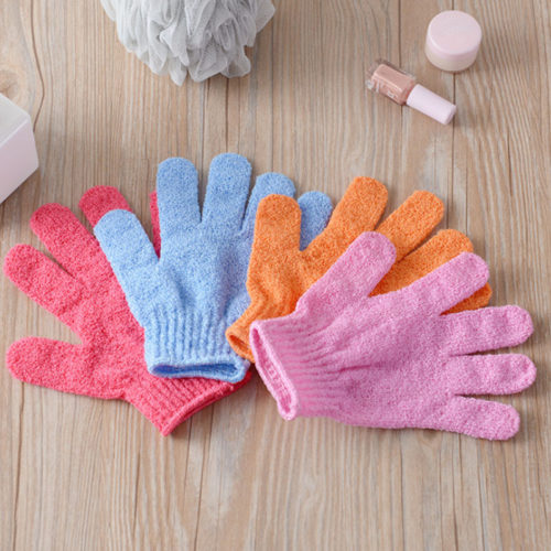 Shower Glove Bath Wash Scrub