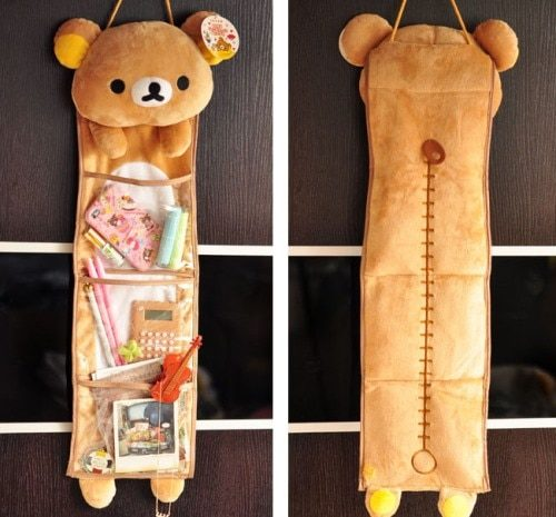 Hanging Storage Bag Bear Style Organizer