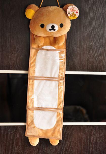 Hanging Storage Bag Bear Style Organizer