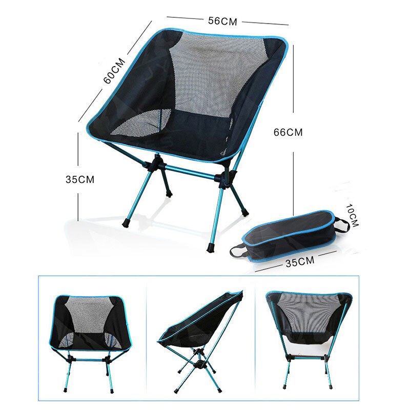 Portable Beach Chair with Storage Bag