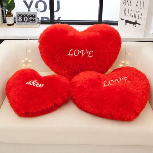 Heart Pillow Decorative Throw Pillow