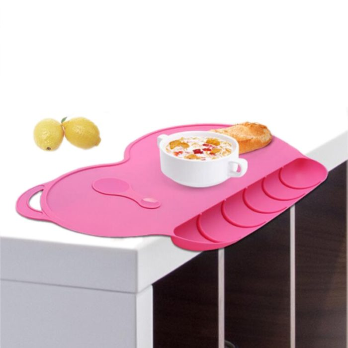Silicone Placemats Kids Tableware Mat