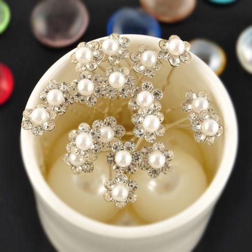 Pearl Hair Pins Bridal Hair Accessory