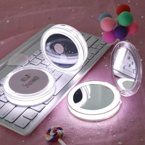 Light Up Makeup Mirror Mini Compact Mirror