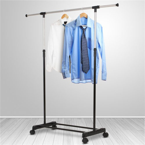 Clothes Rack on Wheels Adjustable Rack
