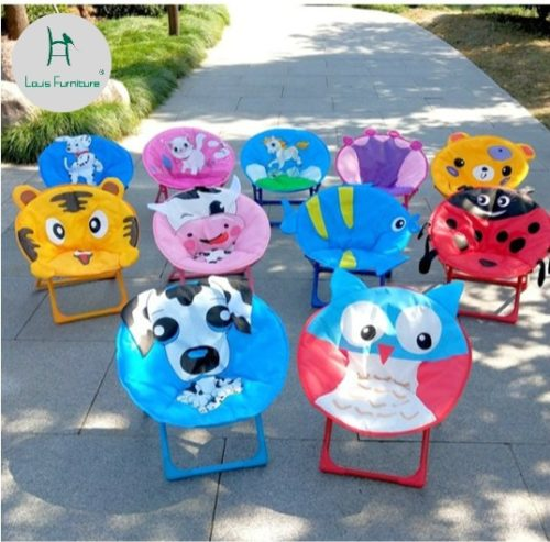 Kid's Folding Chair Cartoon Design