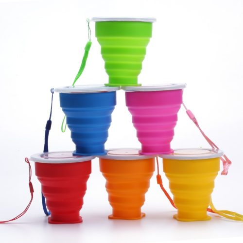 Foldable Cup Collapsible Silicone Cup