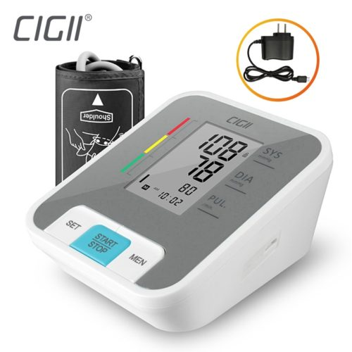 Arm Blood Pressure Monitor LCD Display