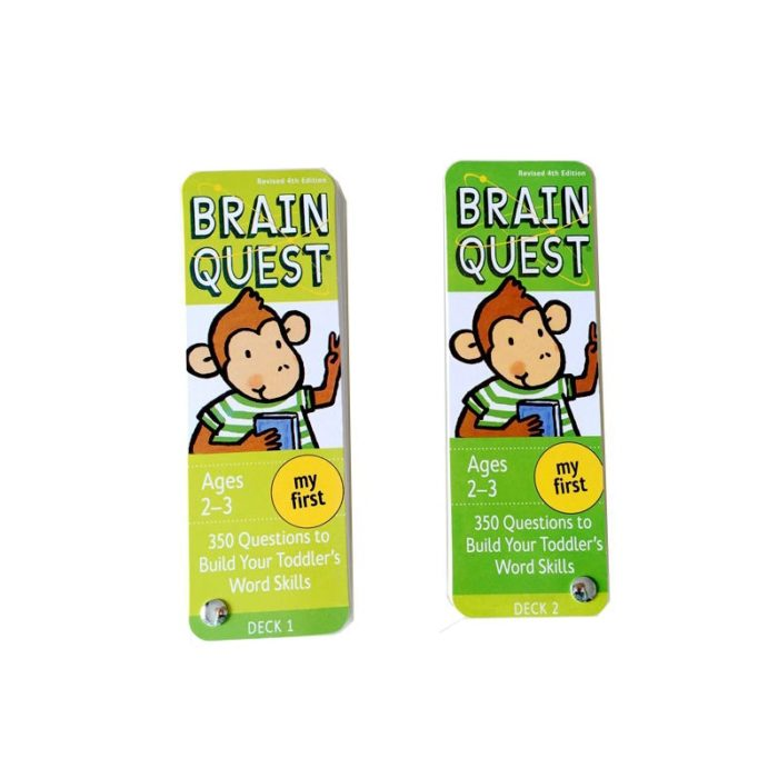 Brain Quest Cards Kids Q and A