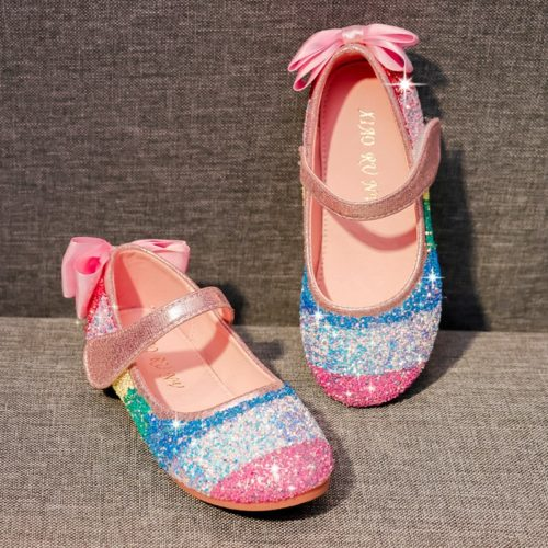 Girl's Glitter Shoes Cute Colorful