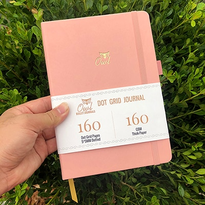 Dotted Journal Notebook Paper
