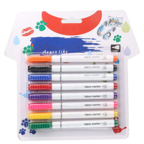 Fabric Pens T-shirt Markers (8pcs)