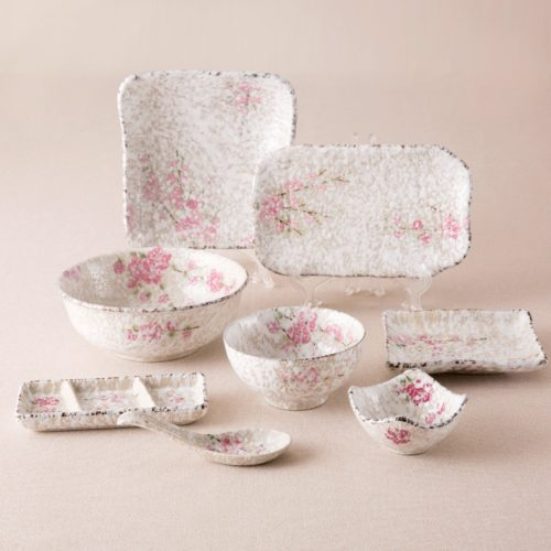 Porcelain Dinner Set 8PC Dishware