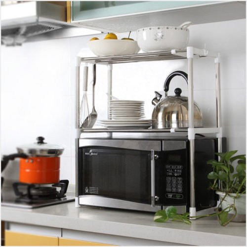 Microwave Oven Stand 2-Layer Rack