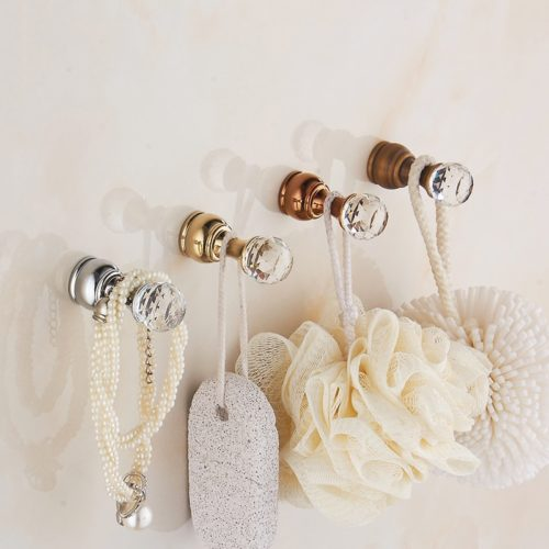 Decorative Wall Hooks Crystal Design