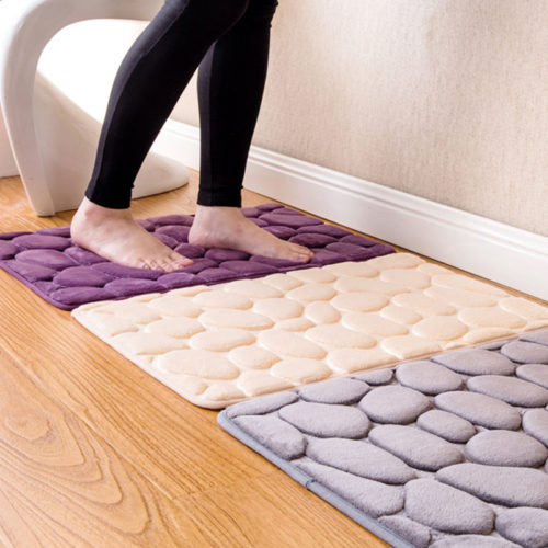 Non Slip Bathroom Rug Durable Mat