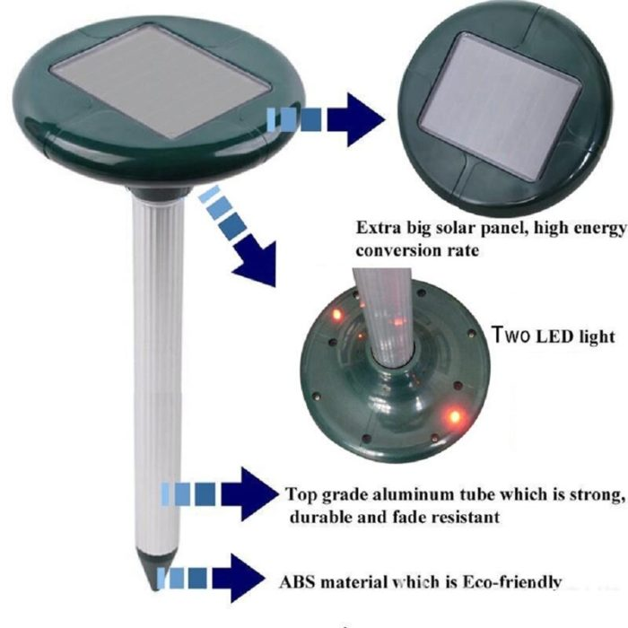 Snake Repellent Solar Powered Tool