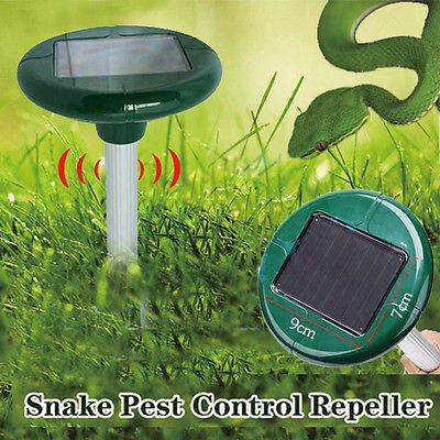 Snake Repellent Solar Powered Tool