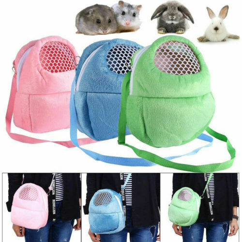 Guinea Pig Carrier Breathable Pouch Bag