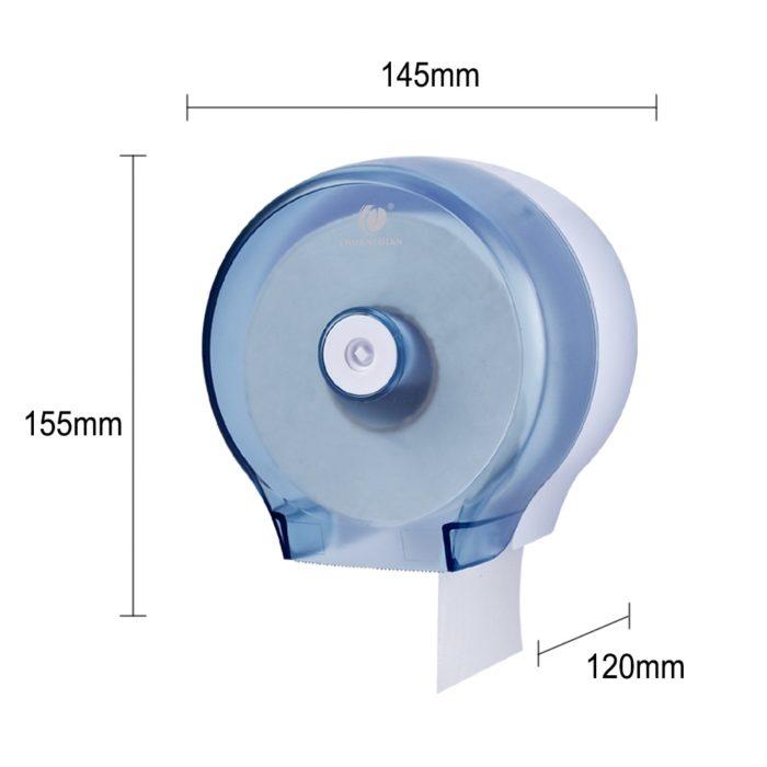 Toilet Roll Dispenser Wall-Mount Design
