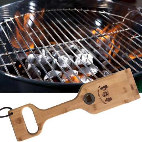 Wooden Grill Scraper Cleaning Tool