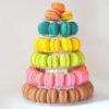 Macaron Stand 6-Tier Plastic Rack