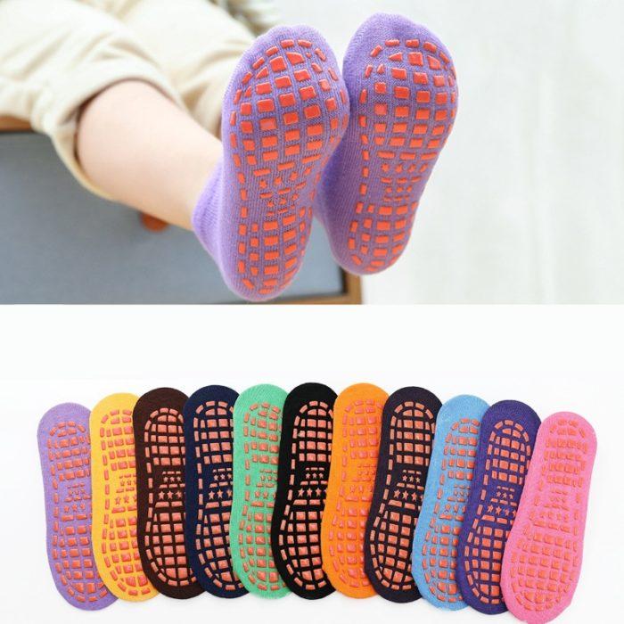 Kids Grip Socks Unisex Non-Skid Socks