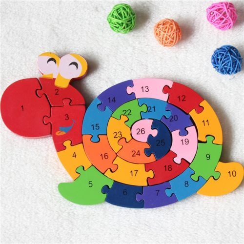 Wooden Jigsaw Kids Educational Toy