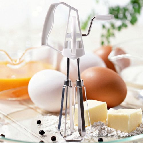 Rotary Egg Beater Kitchen Tool