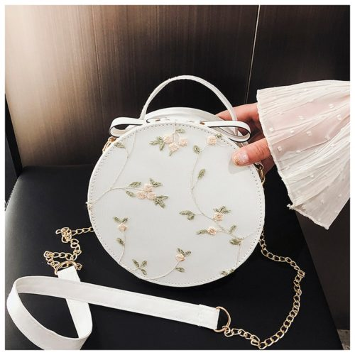 Round Crossbody Bag Ladies Bag